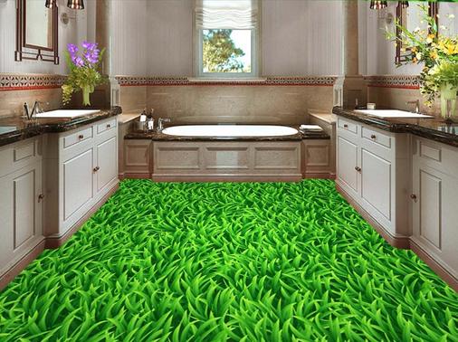 3D Grün Grass 647 Floor WallPaper Murals Wall Print 5D AJ WALLPAPER AU Lemon