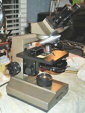 Olympus CHA Phase Microscope,WF10X eyepcs,4X BF,10X& 40X Phase,Turret Cond,Binoc