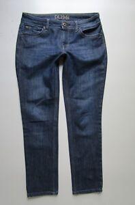 DL1961-039-Angel-039-Slim-Fit-Skinny-Crop-Jean-in-Bolt-Medium-Wash-Size-27-Hemmed