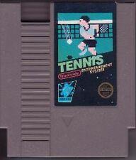 TENNIS ORIGINAL BLACK LABEL GAME NINTENDO NES HQ