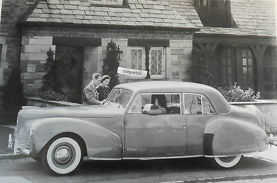 """1940 Lincoln Continental 2 door 12 X 18"""" Black & White Picture"""