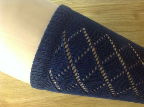 Girls Navy school socks 6 pair size 6-11 Pelerine 3//4 length Knee High UK Made