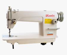 Ikonix Ks 8700 Lockstitch Straight Stich Sew Machine Servo Motor Table Ddl8700
