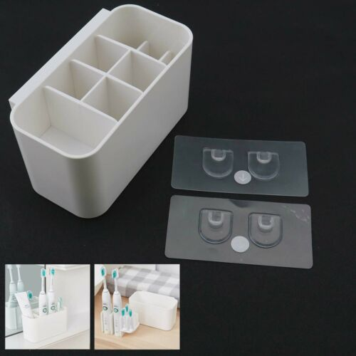 Toothbrush Caddy Electric Toothbrush Holder Toothpaste Stand Organizer Stand