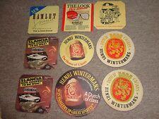 Beer drinks mats drip mats coaster HENRI WINTERMANS dutch cigars HAMLET jo lot