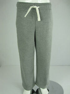 Old-Navy-Kids-Boys-Fleece-Sweat-Track-Pants-ages-6-7-Grey