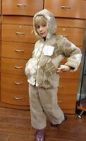 Kid's Jacket Winter Ski Made In Russia 100% Organic Australian Merino Wool