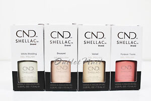 CND-Shellac-Gel-Polish-YES-I-DO-BRIDAL-2019-Collection-7-3ml-25oz-Pick-Any