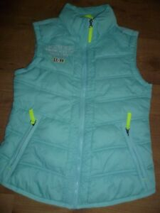 online retailer 7b2bd 8f551 Details zu schöne sportlich Damen Weste Outdoor- Stepp- Weste Gr. S 36  SOCCX türkis LIMITED