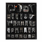32PC Domestic Sewing Machine Presser Foot Feet For Brother Singer Janome DIY Kit