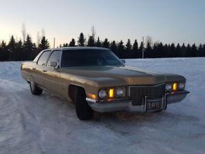 1972 Cadillac Fleetwood Sixty Special