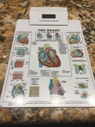 Cardiovascular Conference Medical Doctor Clipboard Quick Medical Reference VTG