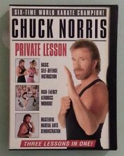 CHUCK NORRIS PRIVATE LESSON    DVD genuine region 1