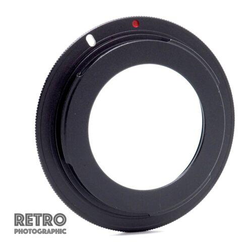 M42-EOS M42 Tornillo Ajuste Lente Canon EF EOS Anillo Adaptador de montaje con brida-Reino Unido Stock
