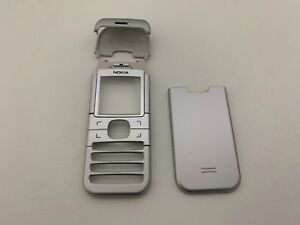 NEW-GENUINE-ORIGINAL-NOKIA-6030-HOUSING-SILVER-3-PARTS-SET