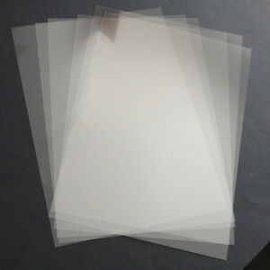 2 x a4 stencil sheets 220 micron pvc thin clear reusable for Plastic grid sheets crafts