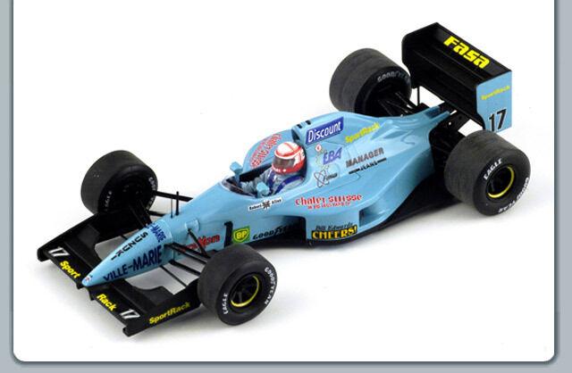 1 43 Leyton House March CG911 Canadian GP 1992 Paul Belmondo