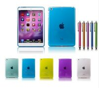 TPU GEL Back CASE Cover FOR APPLE IPAD MINI 2 2ND GEN WITH RETINA DISPLAY