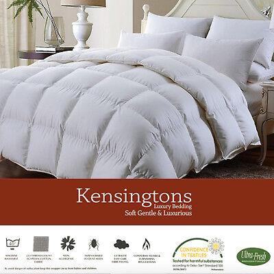 Ultimate Microfibre Silk Soft Duvet Quilt Hôtel Quality Bedding ALL SIZE /& TOG