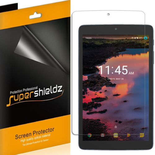 3X Supershieldz for Alcatel A30 Tablet 8 Inch Clear Screen Protector