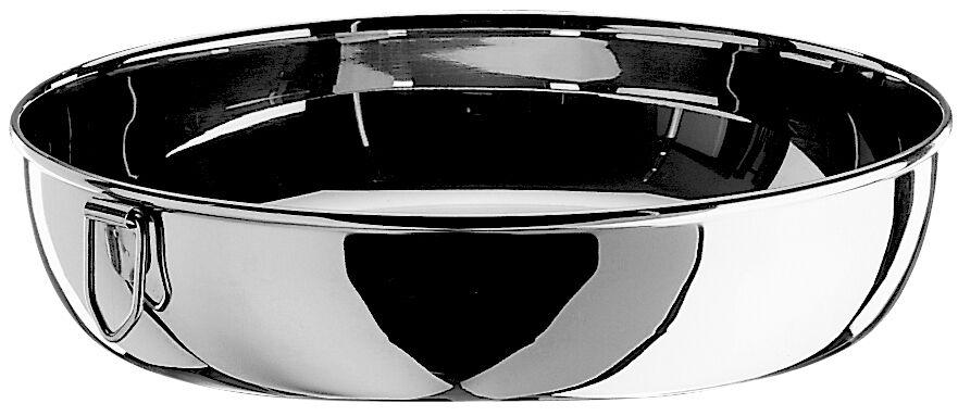 Tortiera in acciaio inox 34x6,5 cm Pintinox
