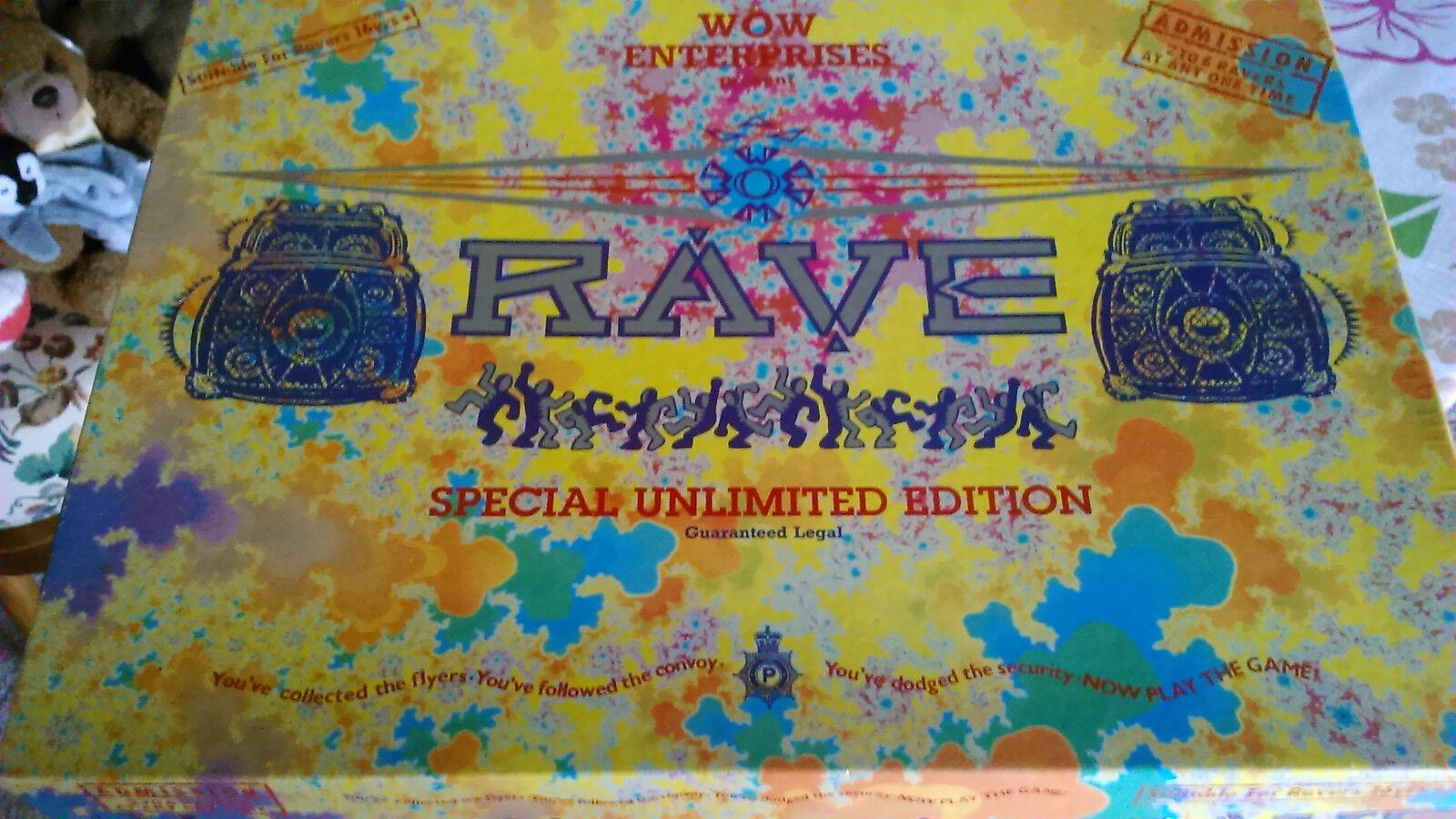WOW Enterprises Rave specialeeee Edizione illimitata  con poster. gioco è completo.  fino al 70% di sconto