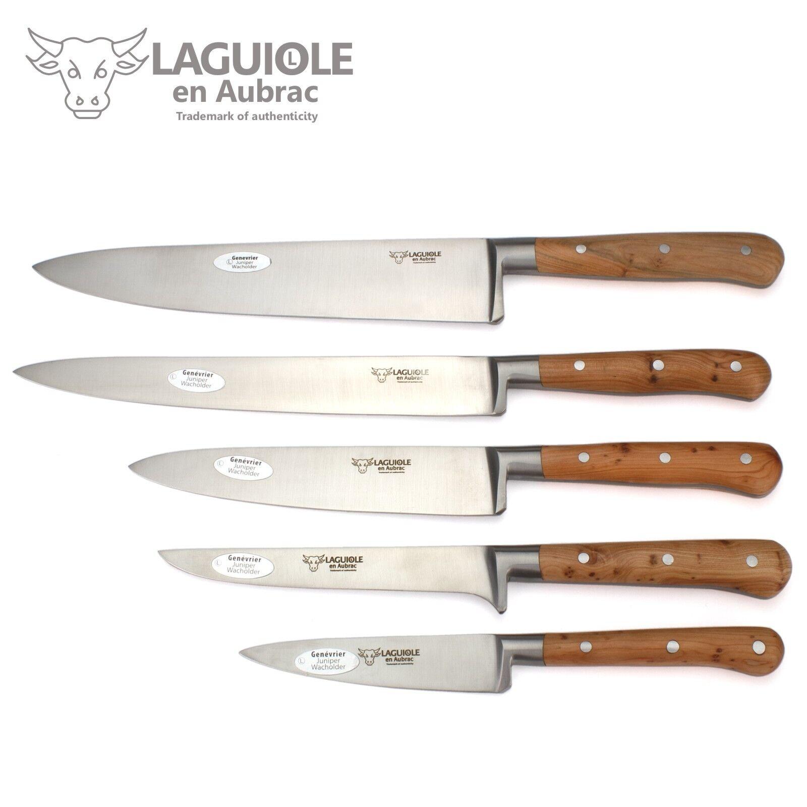 Laguiole en Aubrac Couteau Couteau de Cuisine Set 5 Pièces-Poignée Genièvre