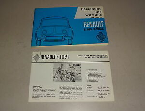 Instrucciones-Servicio-Manual-Renault-Dauphine-R-1090-Delfina-Gordine-R-1091