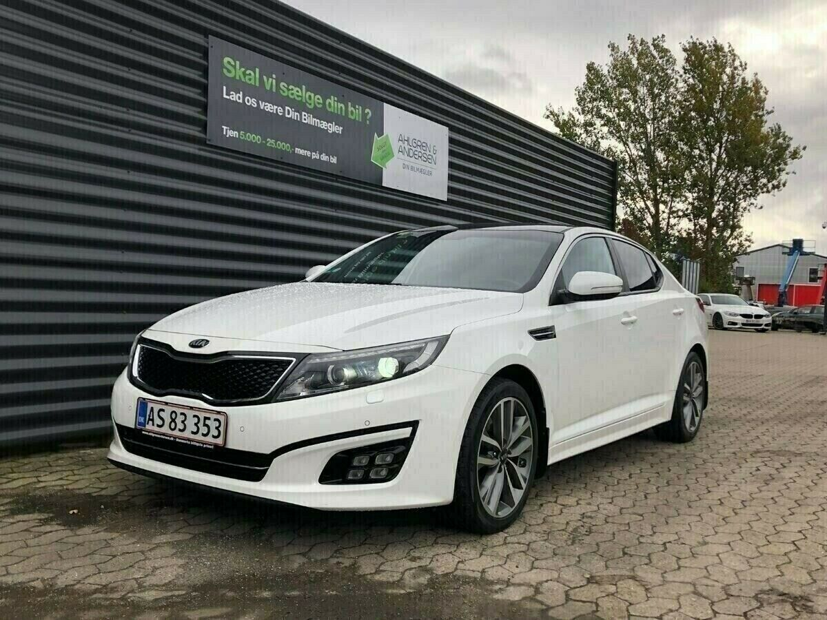 Kia Optima 2,0 MPi Advance 4d