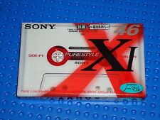 SONY  XI   VS. I   PURESTYLE  46   CASSETTE TAPE (SEALED)