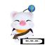 taito-Final-Fantasy-BRAVE-EXVIUS-Moogle-Moglie-stuffed-plush-bag-version-limited thumbnail 1
