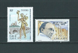 FRANCE-2001-YT-3397-a-3398-TIMBRES-NEUFS-LUXE