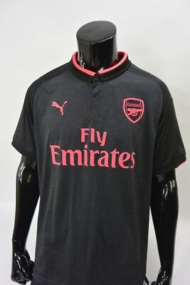 GUNNERS 2017-2018 Arsenal Puma Away Football Shirt SIZE XL (adults) | eBay