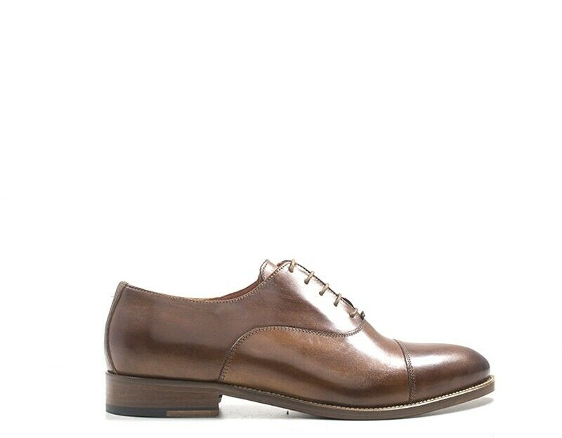 Chaussures HOLE B Homme marron Cuir naturel AT010-CU
