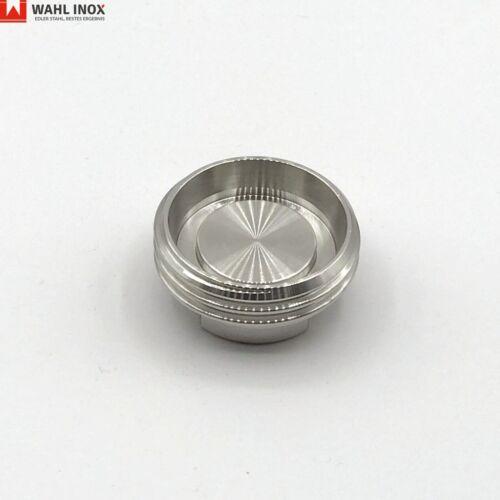 dn10-100 Cieco filetto in acciaio inox 1.4301 secondo DIN 11851 Pol