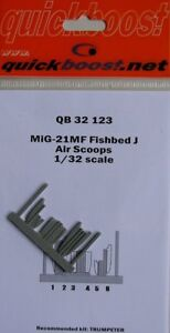Quickboost-1-32-Mikoyan-MiG-21MF-Fishbed-J-Air-Scoops-for-Trumpeter-32123