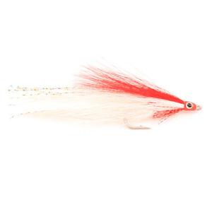 Lefty/'s Deceiver Pink//White 1//0  saltwater flies