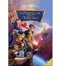 DISNEY DVD Il pianeta del tesoro con celophan