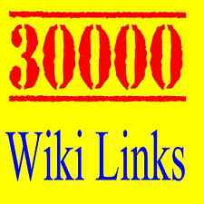 █   █  30,000 Wiki Backlinks to Your Website - High Authority - Google SEO  █