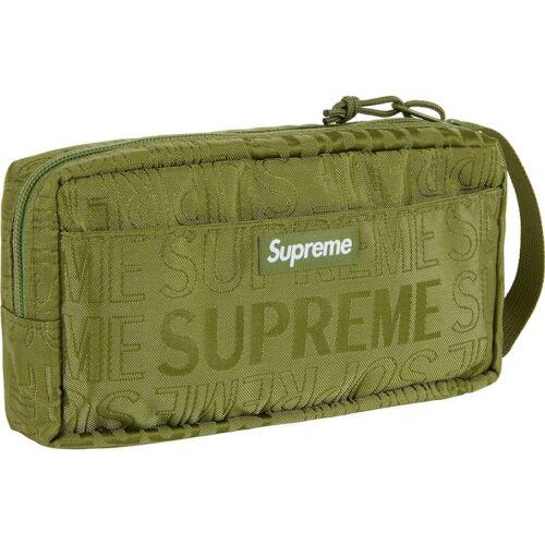BOX LOGO SHOULDER WAIST BACKPACK TNF Supreme SS19 Organizer Pouch Bag Authentic
