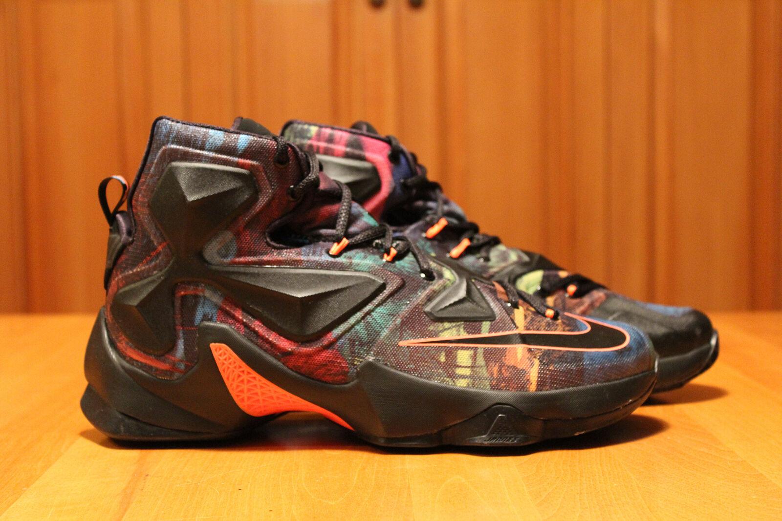 Nike Lebron 13 XIII Muticolor 330 Rare DS US shoes size 10