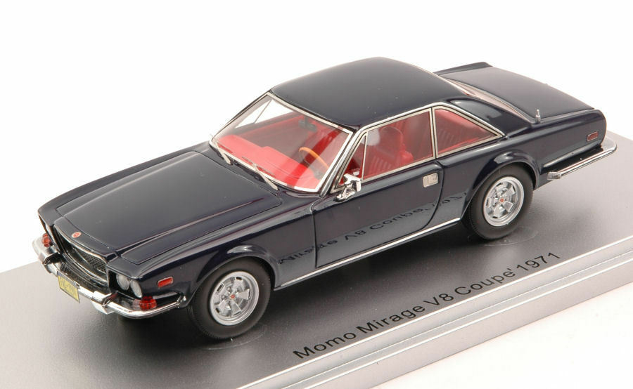 Momo Mirage V8 Coupe' 1971 Night blu 1:43 Model KESS MODEL