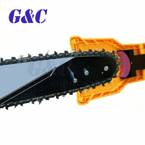 Chainsaw Teeth Sharpener 14-20Inch Saw Chain Sharpening System 3*Whetstone