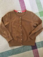 Boden Cashmere Brown Cardigan Size 8 10 Brown Small