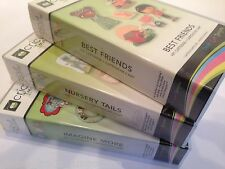 Cricut 'NURSERY TAILS' 'IMAGINE MORE' &  'BEST FRIENDS' Cartridge 3 Pack!!