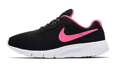 Nike Ragazza Tempo Libero Scarpa Scarpe Running Uomo Tanjun (gs) Nero Rosa-
