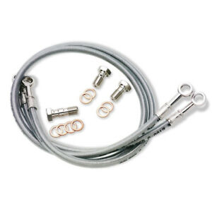 HONDA NSR250 MC18//21 1987-93 VENHILL stainless braided brake lines hoses RACE