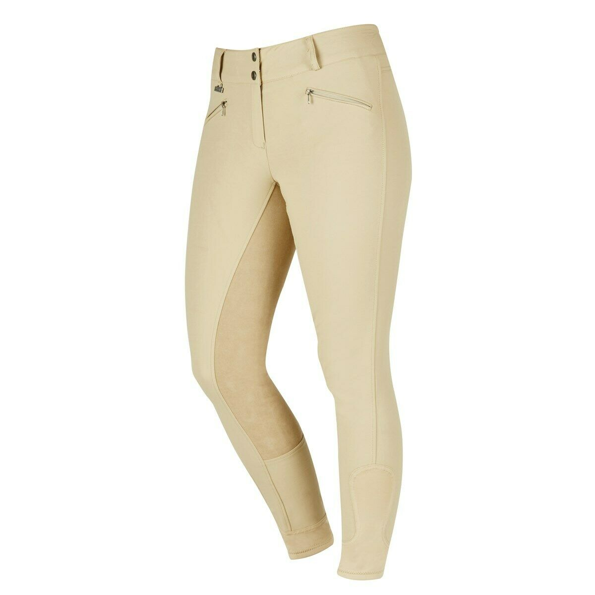 Dublin Supa Shape Performance Full Seat Breeches In Beige Size 12 30