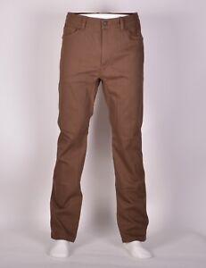 2016-NWT-MENS-L1-ONE-INSULATED-PANTS-M-32-Brown-Overdye-Denim-premium-goods