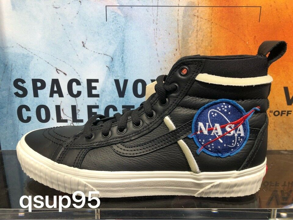 NASA x Vans SK8-Hi 46 MTE DX Voyager Black White VN0A3DO5UQ3 Size 8-13 New